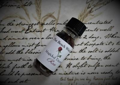 RED ROSE INFUSED OIL Ritual Oil Herb Oil Tincture ~ Wicca Witchcraft Pagan Oils