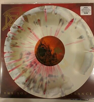 Death The Sound of Perseverance Bone White Gold Merge Red Splatter 200 Sold Out