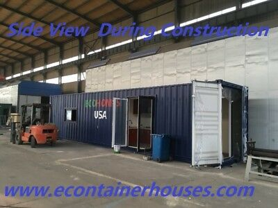 Luxury Container Home Custom Built New-Lovely Interior/Kitchen/Bath/Murphy Bed