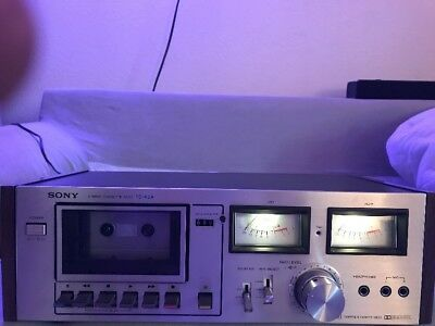 Vintage Sony TC-K2A Stereo Cassette Tape Recorder Cassette Player Deck Japan