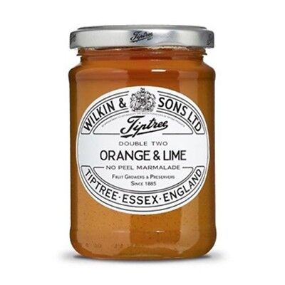 Tiptree English Marmalade, Orange & Lime Marmalade , (2 Jars x 340g)