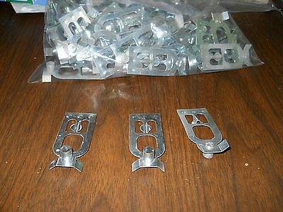 100 pallet rack safety clips teardrop