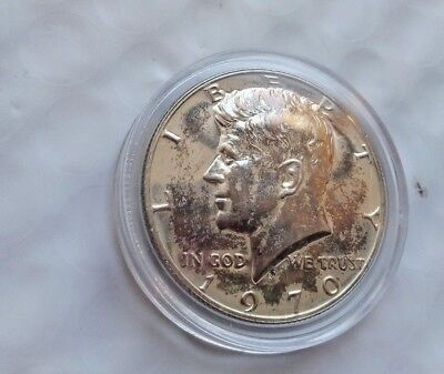 1970-S 50C Kennedy 40% Silver Half Dollar Proof in encapsulated holder (lot#2)