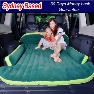 Inflatable car air bed for camping travel holiday car sleep mattress full size