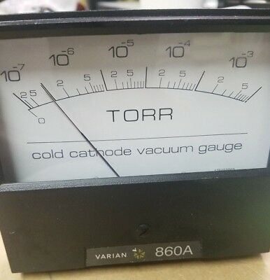 Varian 860A  Cold Cathode Ionization Gauge Control L5796-311