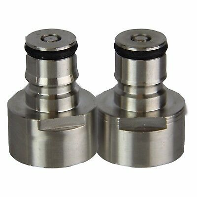 Ball Lock Quick Disconnect Adapters- Gas and Liquid Keg Adapters