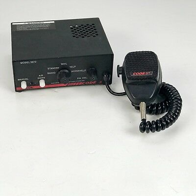 V-Con Code 3 Model 3672 Police Scanner Public Safety Equipment