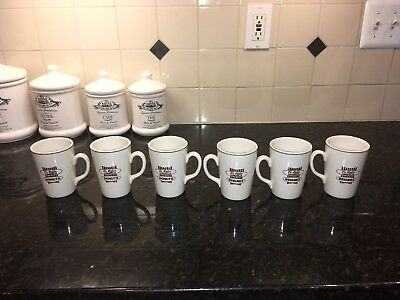 Set of 6 Tim Horton Mugs Vintage Royal Doulton / Steelite