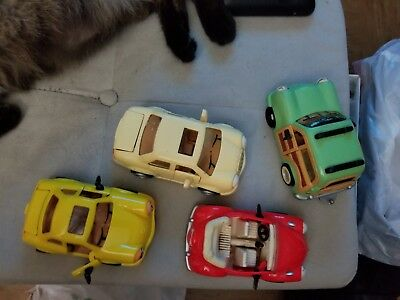 Lot of 4 different Chevron cars# 10,12,15, &16. Made 1999.