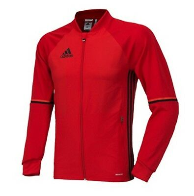 Adidas Youth Condivo 16 Training Soccer Clmacool Red L/S GYM Kid Shirts AN9828