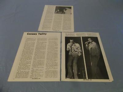 Conway Twitty  clipping #ED
