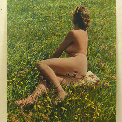 Nude Naked Female Picture Portfolio 40s Agfacolor GERMAN Photo Book Beauty Women