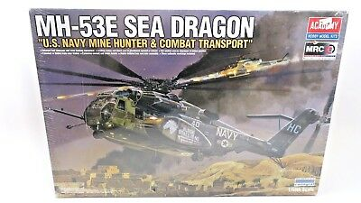 Academy US Navy MH-53E Sea Dragon Helicopter 1/48 Scale Plastic Model Kit 12703