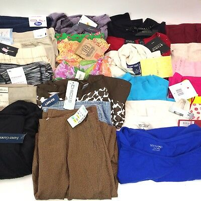 Clothing Wholesale Lot 25 New With Tags Items Womens Multiple Sizes Reseller