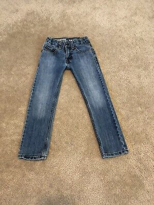Levi Strauss Signature Jeans Boy Girl Adjustable Waistband Slim Straight size 6