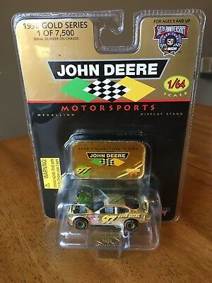 1998 John Deere Gold Stock Car 1/64 scale - 1 of 7,500!! - New in package!