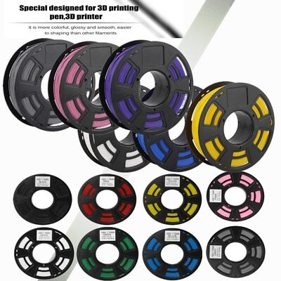 3D Drucker PLA & ABS 1.75mm Printer Filament -Mit Spule 1KG
