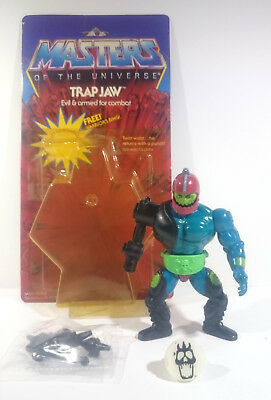 Trap Jaw - US Card - Warriors Ring - Masters of the Universe - Motu Vintage