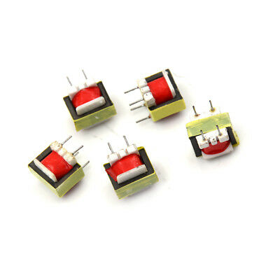 5Pcs Audio 1300 : 8 Ohm EE14 Transformateur POS Machine-transformer ^