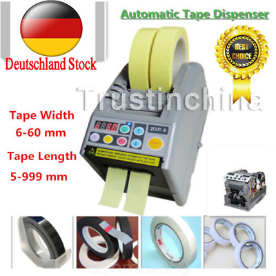 Automatic Tape Dispensers ZCUT-9 Adhesive Tape Cutter Machine 220V Dual Sensor