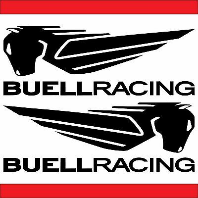 2x BUELL Pegasus Aufkleber Sticker Decal viele Farben Buell Motorcycles
