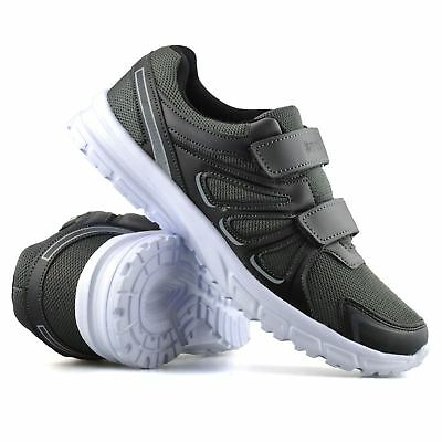 Boys Childrens Casual Touch Strap Summer Sports Mens Running Trainers Shoes Size