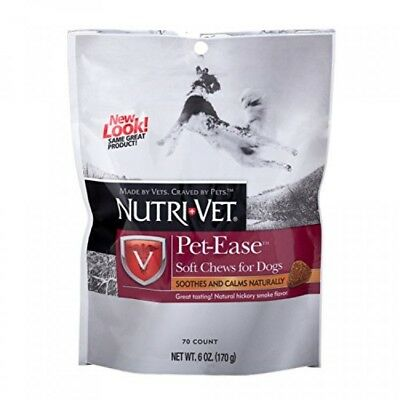 NutriVet PetEase Soft Chews for Dogs, 6 Ounces