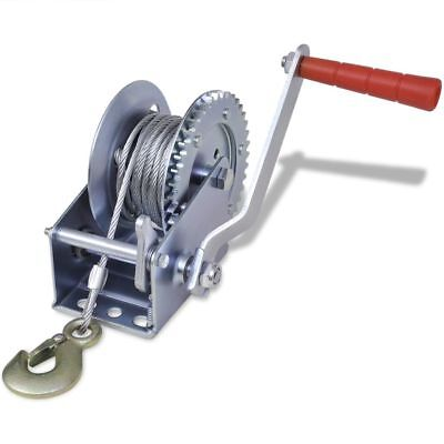 Hand Winch 544kg Pull Lift High Quality Durable Iron Trailer Boat Gear Crank