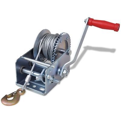 Hand Winch 907kg Pull Lift High Quality Durable Iron Trailer Boat Gear Crank
