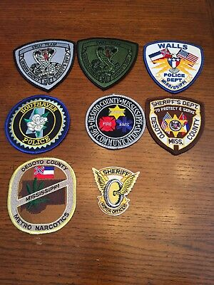 Emergency Services Patches Lot - Desoto County, Mississippi