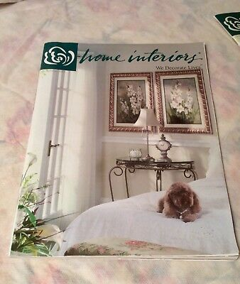 "Home Interior Book / Catalog  "" Summer 2004 "" Book # 3 Mint Condition"