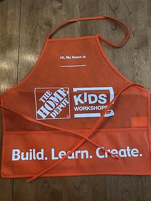 Home Depot Kids Apron Home Depot Kids Workshop Apron Home Depot Workshop Apron