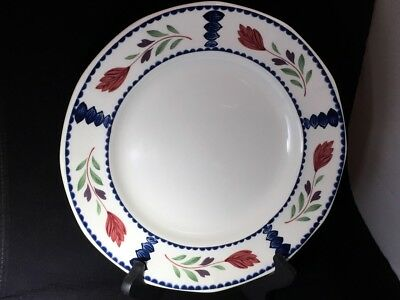 "ADAMS LANCASTER Real English Ironstone Dinner Plate 10 1/8"" Good Replacement"
