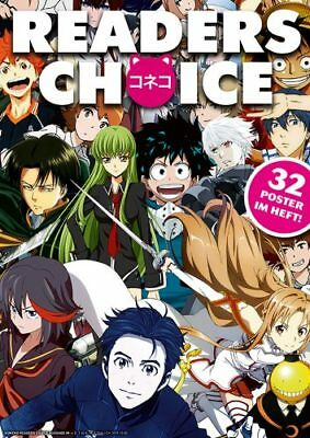 Koneko Readers Choice Heft Nr. 4 Anime Manga Yuri on Ice