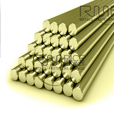 BRASS ROUND BAR BRASS ROD all SIZES MILLING CRAFT MODEL MAKING Engineering