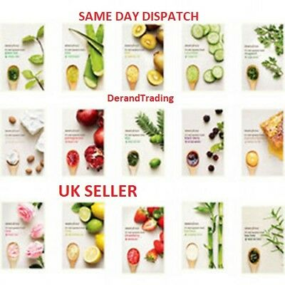 2018 Innisfree Its Real Squeeze Facial Sheet Mask 15 Types 100% Genuine UK STOCK