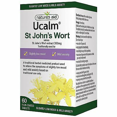 Natures Aid Ucalm 300mg - Pack of 60 Tablets