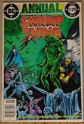 Swamp Thing Annual #2 invades Hell w/ Deadman, Spectre, Demon 1985 Alan Moore