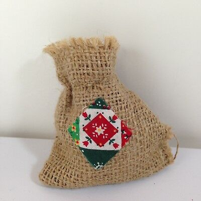 Annalee Mobilitee Doll Accessory Replacement Santa Toy Burlap Sack Christmas