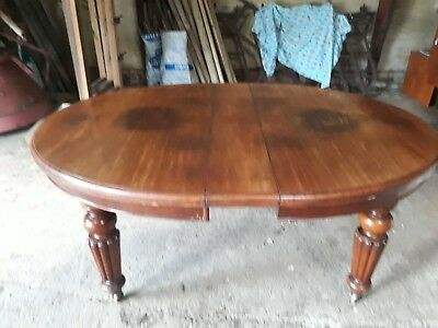 Antique Mahogany Extending Dining/Kitchen Table circa 1860