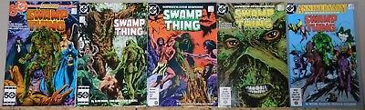 Swamp Thing 46 47 48 49 50 1st Parliament of Trees & Justice League Dark