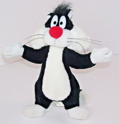 "Looney Tunes Sylvester The Cat 1998 Warner Brothers 9"" Plush Stuffed Toy"