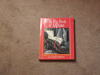 The Big Book of Afghans by Annette Feldman, Great Pictures and Design Details