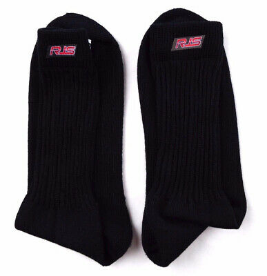 Rjs Racing Equipment Sfi 3.3 Black Medium Racing Socks Underwear Nomex 800070104