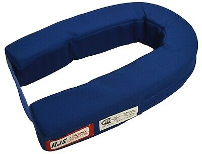 Rjs Racing Sfi 3.3 Helmet Support Blue Horseshoe Adult Neck Brace 11000503