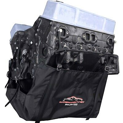 Universal Engine Diaper Blanket 6 Strap Big Block Small Block Bracket Racer