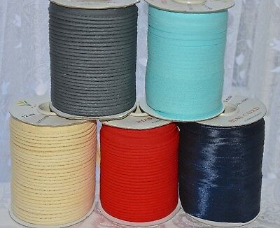 3 Mtrs.Flanged Piping Insertion Cord Rope Bias Piping Trim Sewing.Upholstery SML
