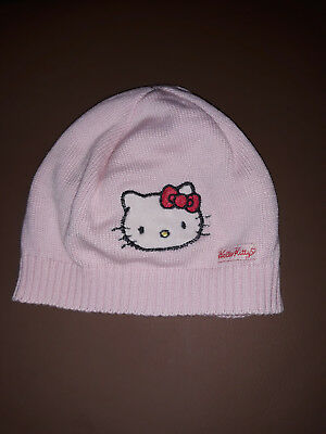 Hello Kitty Mütze rosa H&M Gr. 74/80