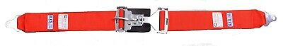 "Rjs Racing Sfi 16.1 Latch & Link 3"" Lap Belt Red 50502-4 15001904"