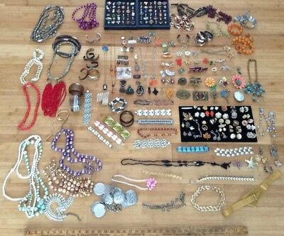 Huge Victorian Vintage Antique Jewelry Lot Of Over 250 Pc Estate Rings Lot